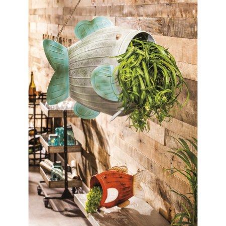 Patio & Garden Hanging planters, Metal wall planters