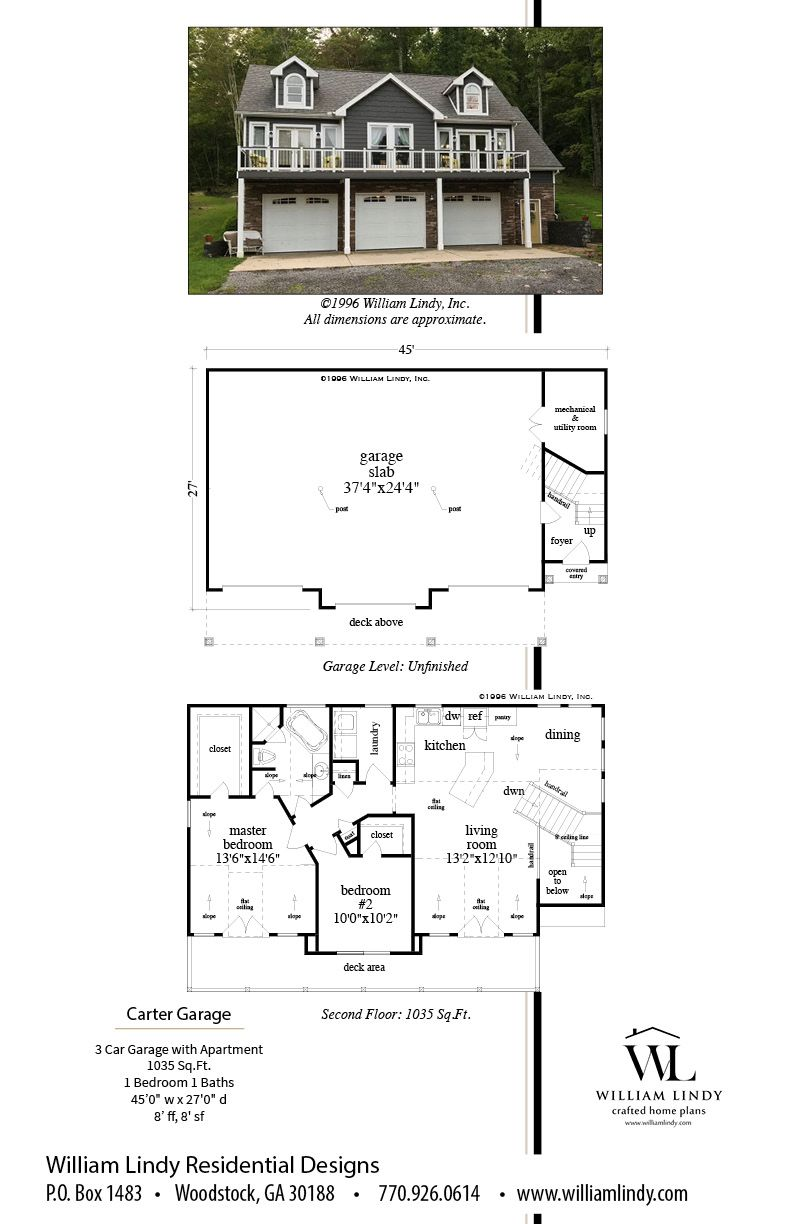 Carter Garage Carriage House Plans Garage Floor Plans Garage Apartment Floor Plans