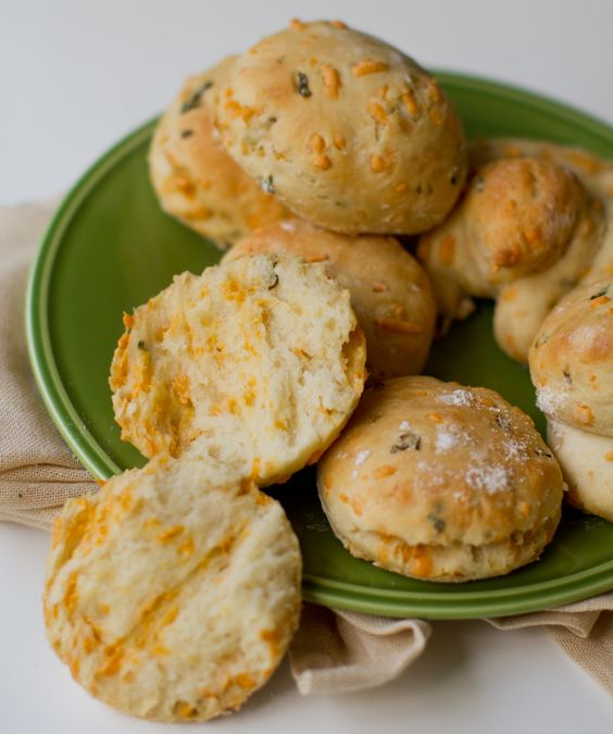 Cozy Jalapeño Cheddar Biscuits. Simple #Vegan Recipe. - Healthy. Happy. Life.