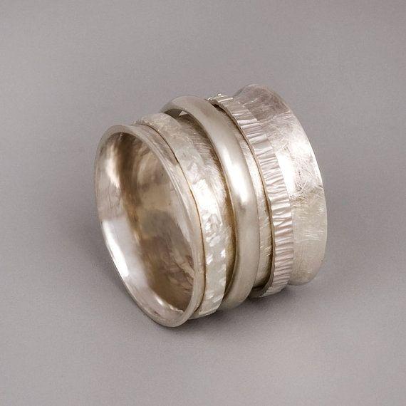 SilberSpinner Ring Sterling Silber Ring Damen Ringe