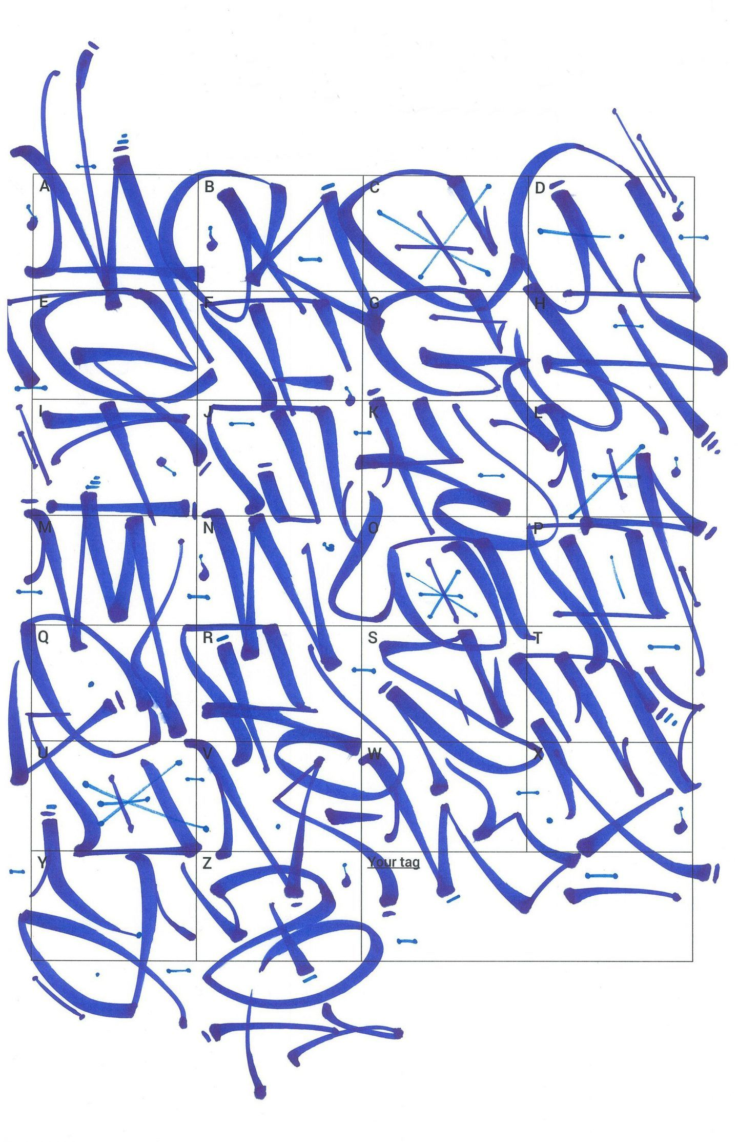 Graffiti Letters 61 Graffiti Artists Share Their Styles Tipos