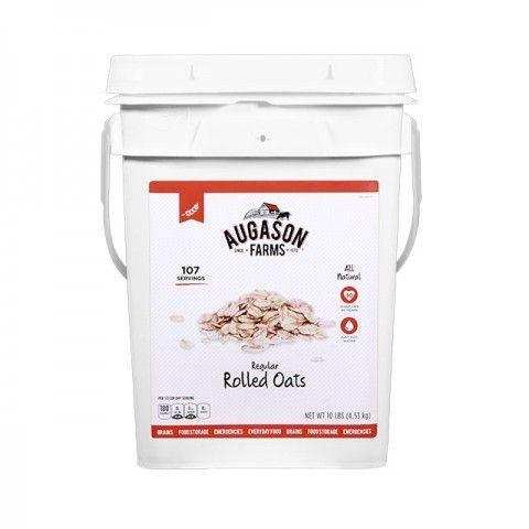 Grains- Regular Rolled Oats 10lb Pail
