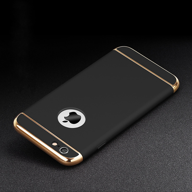 For Iphone 6s Plus 6 Case Iphone6 Gold Luxury Back Hard Cover Black Accessories Coque Case For Iphone 6 Plus Iphone 6s Cas Iphone Iphone Cases Hard Phone Cases
