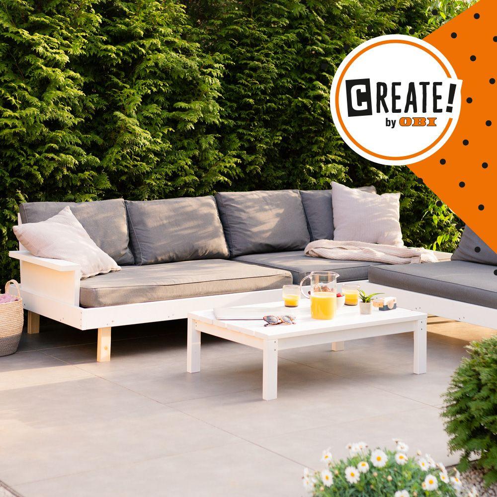 Loungemobel Kiluja Create By Obi Gartenlounge Selber Bauen Lounge Mobel Garten Lounge