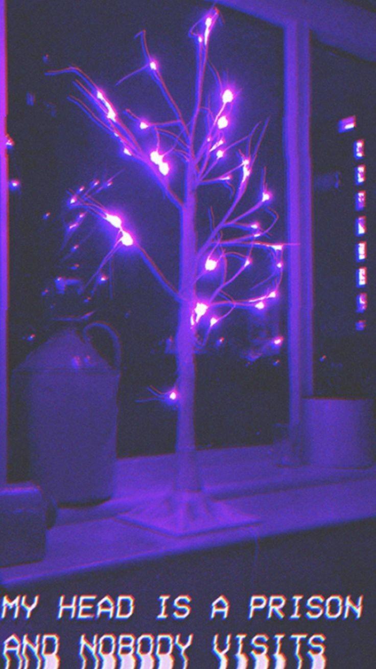 Pin by Kayla on Aesthetic Galaxy   Dark purple aesthetic ...