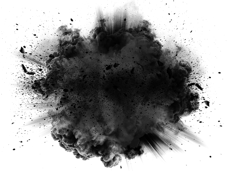 Big Explosion Blast With Black Smoke Cloud Background Free Smoke Texture Smoke Wallpaper Black Smoke