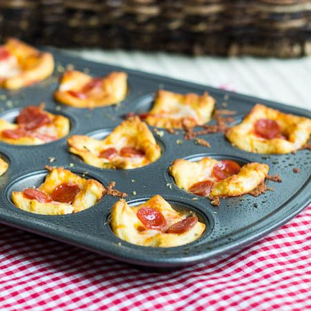 Pepperoni Pizza Appetizers
