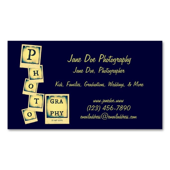 Photography collage double sided standard business cards pack of photography collage double sided standard business cards pack of 100 this great colourmoves