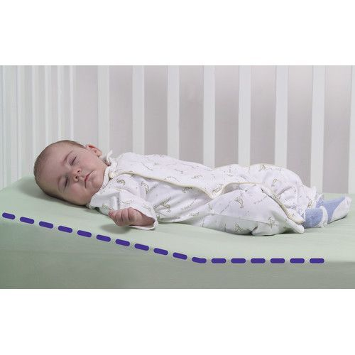 How To Get Baby To Sleep In Crib Crib Wedge Baby Safe Getting Baby To Sleep