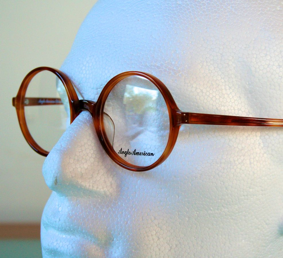 The Old Glasses Shop Anglo American 116 Round Eye Retro