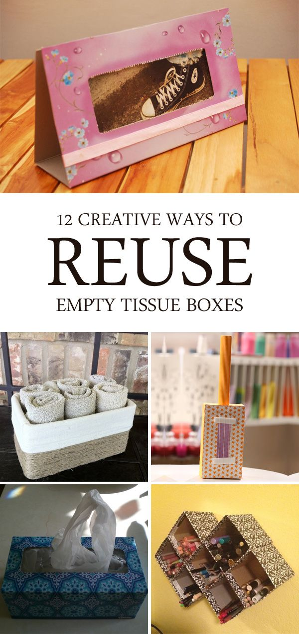 12 Creative Ways to Reuse Empty Tissue Boxes | Do It ...