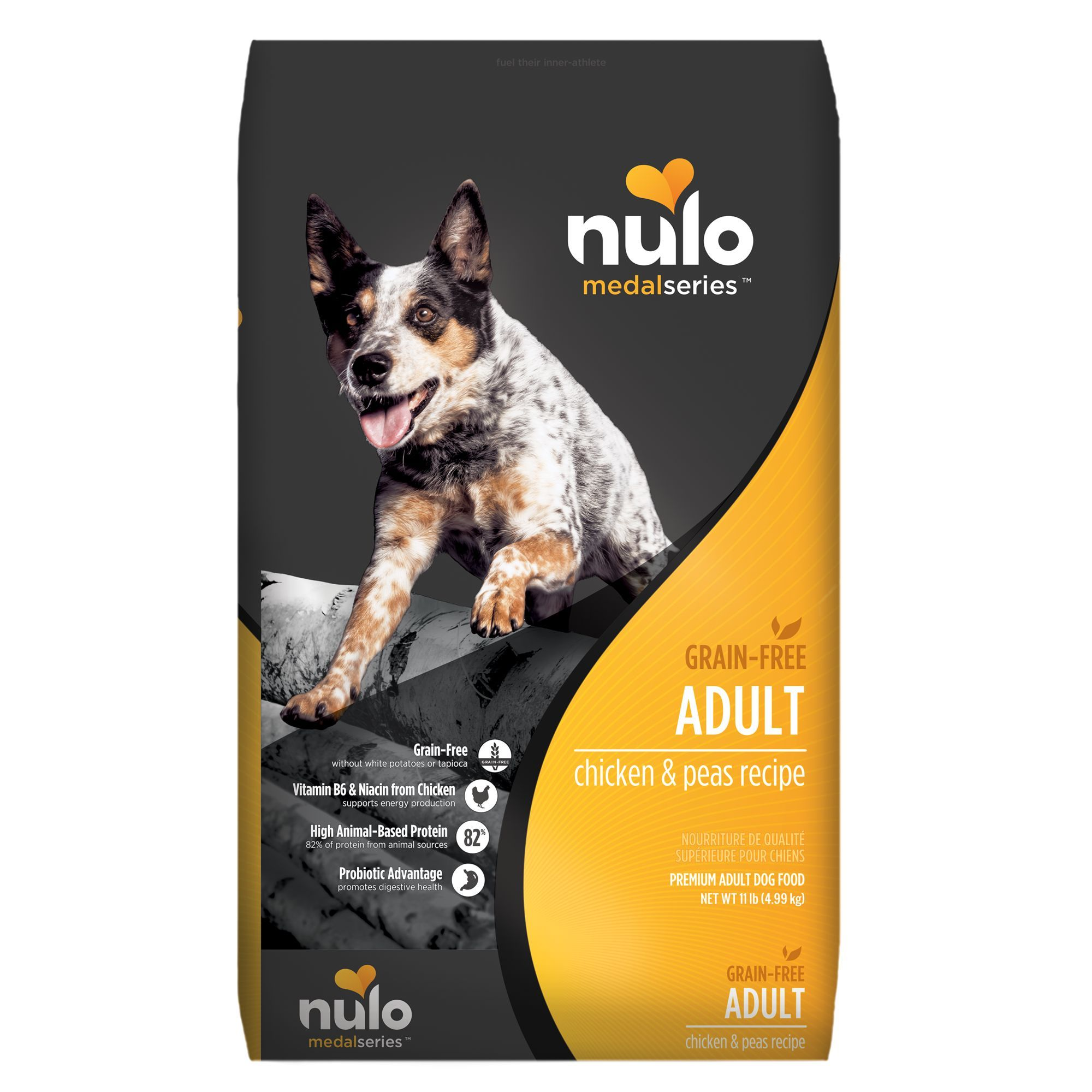 Nulo Medalseries Adult Dog Food Grain Free Size 11 Lb Copper
