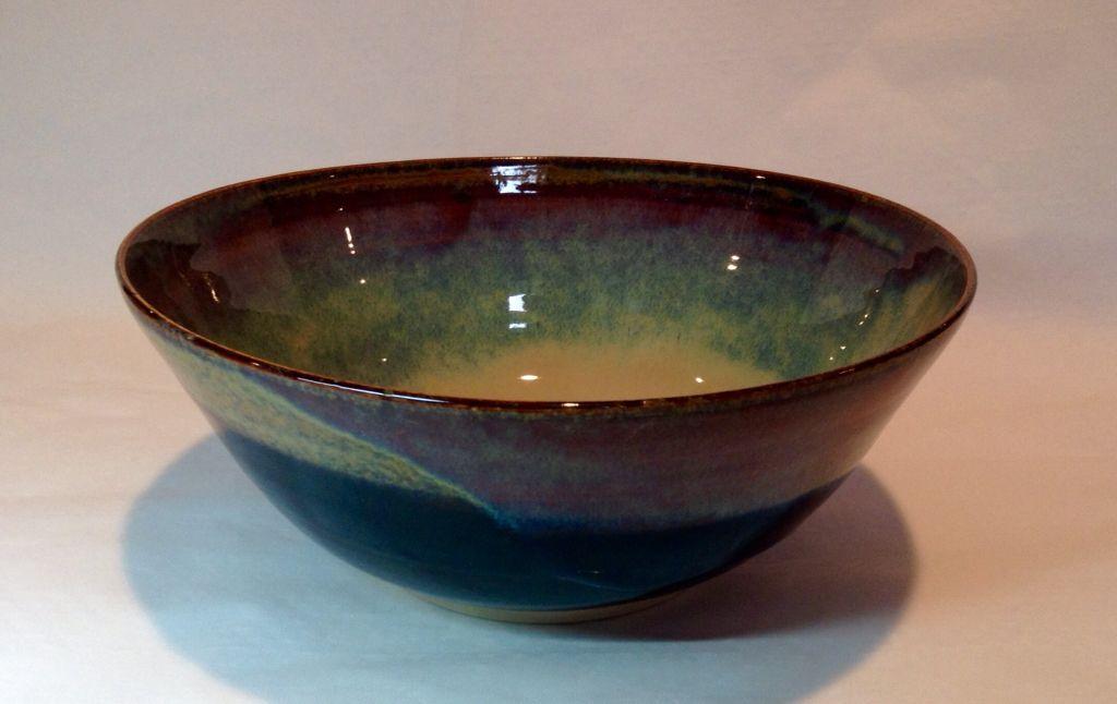 Large stoneware bowl annie jennings pottery bowls