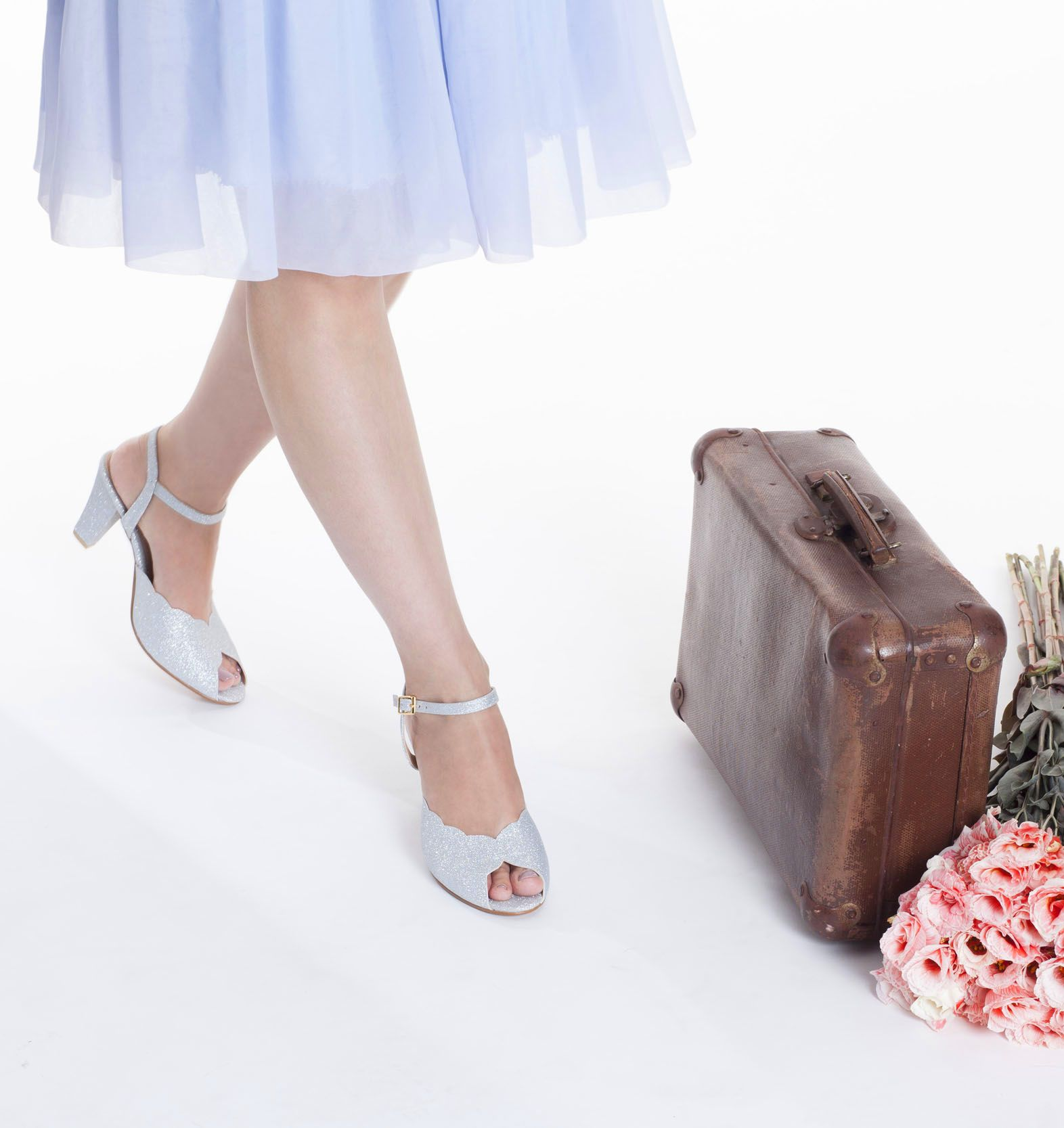 6fa37624ccd Silver Wedding bridal shoes   high heel bridal sandals   vegan bridal shoes    beautiful stilettos