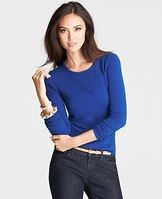 Collectible Cashmere Crew Neck Sweater - It takes us a year to get our cashmere just right. Incredible softness, chic curated colors, the perfect weight (not to mention irresistible swoon factor) make it the gift you can be proud to give…and get. Impossibly luxe cashmere makes our classic crew neck extra covetable - and undeniably chic. Crew neck. Long sleeves. Ribbed cuffs and hem.