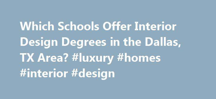 Colleges That Offer Interior Design Majors