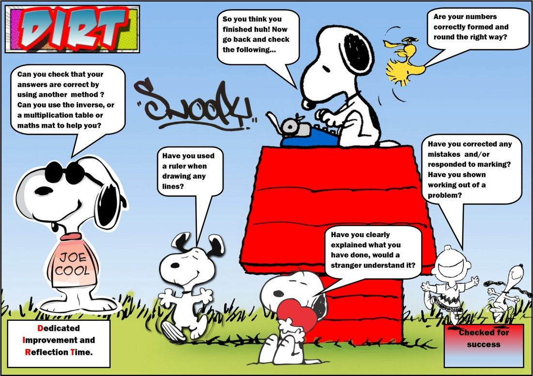 Snoopy Dirt Mat