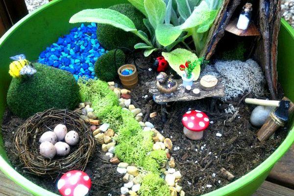 Love The Little Fairy Garden Idea! 10 Fun Backyard Play Space Ideas For Kids    ParentMap