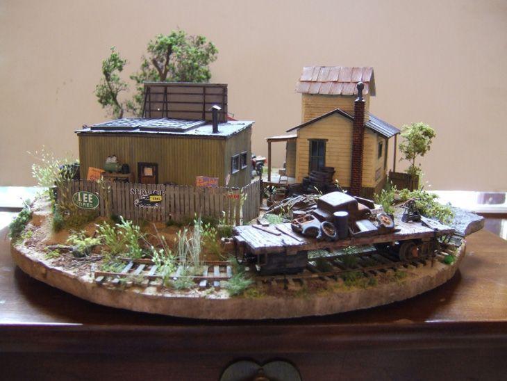 Diorama built by Tom, of Elk River Ry - Dioramas - Model Railroad Forums - Freerails