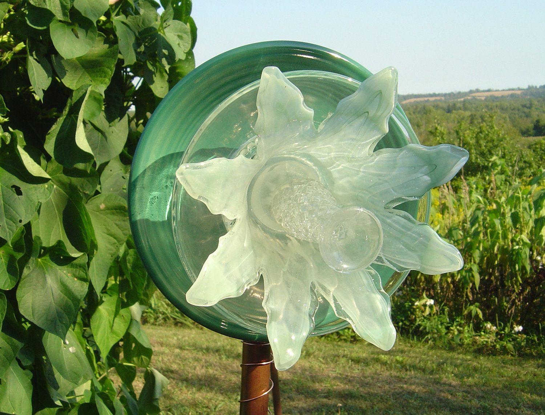 garden decor art plate flower. $39.00, via Etsy. | Things I Love ...