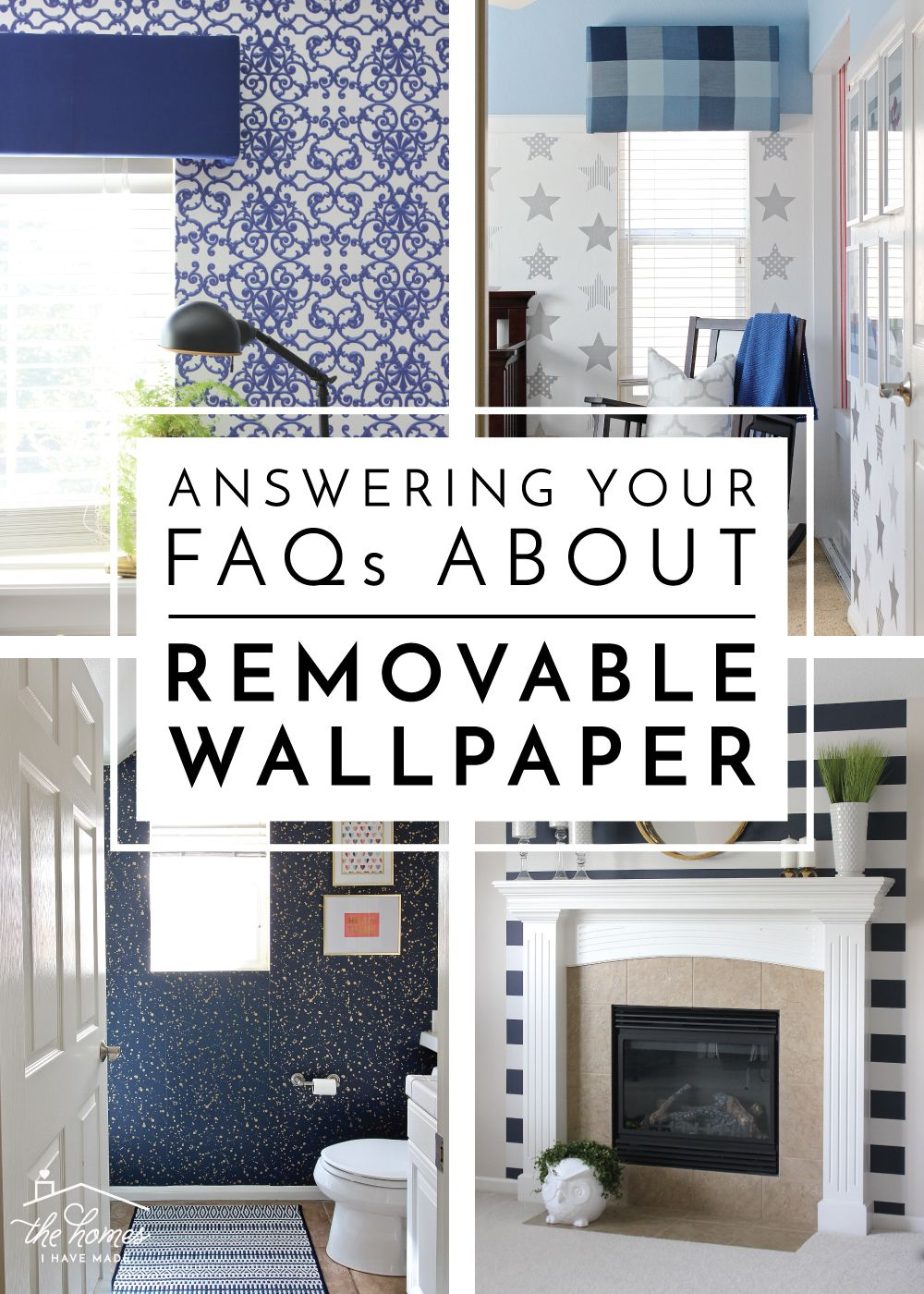 Answering Your Faqs About Removable Wallpaper How To Install Wallpaper Renter Friendly Wallpaper Removable Wallpaper For Renters