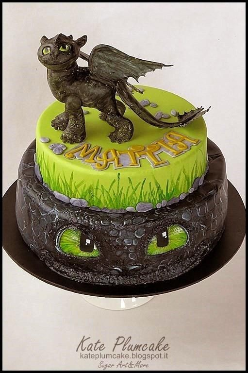 Strange Adorable How To Train Your Dragon Cake Dragon Cakes Dragon Personalised Birthday Cards Beptaeletsinfo