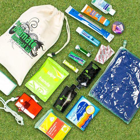 Festival Survival Kit There S Lip Balm A Pvc Poncho