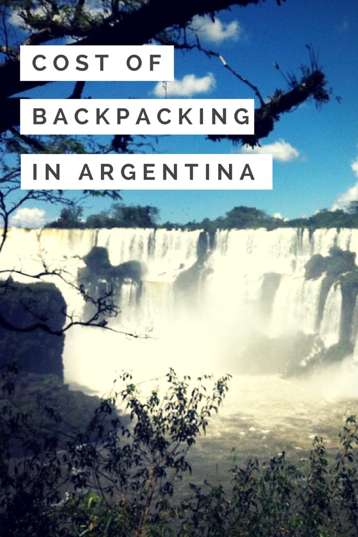 Mochilero en Argentina es muy divertido. No es tan caro y es la manera fácil de ver hermosos paisajes.