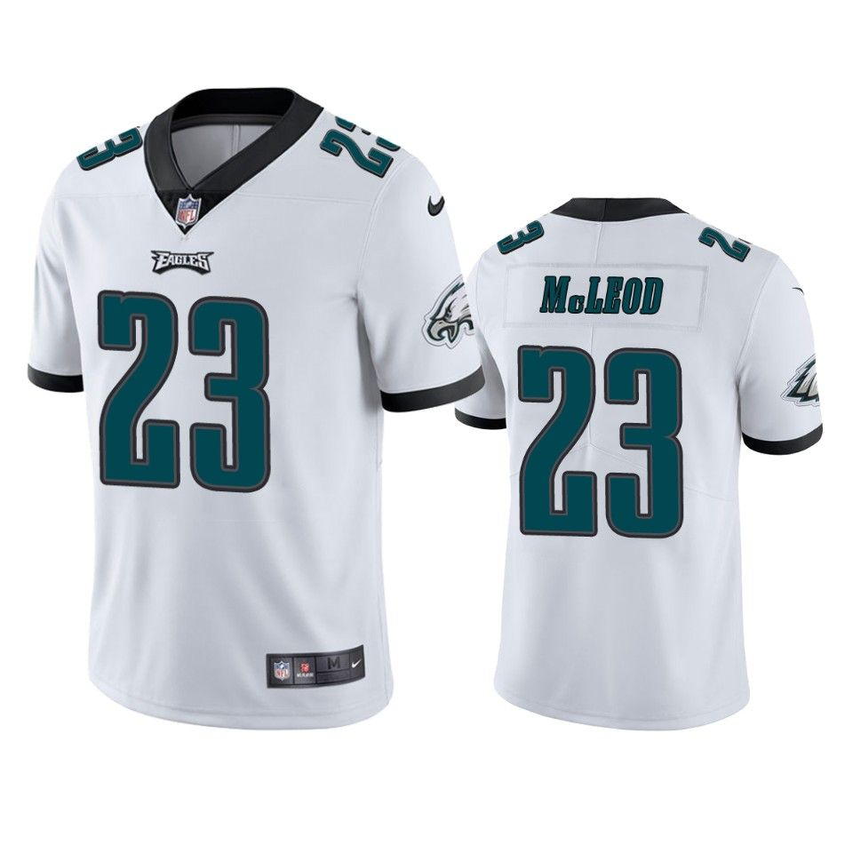 Eagles White Rodney Mcleod Vapor Untouchable Limited Jersey in ...
