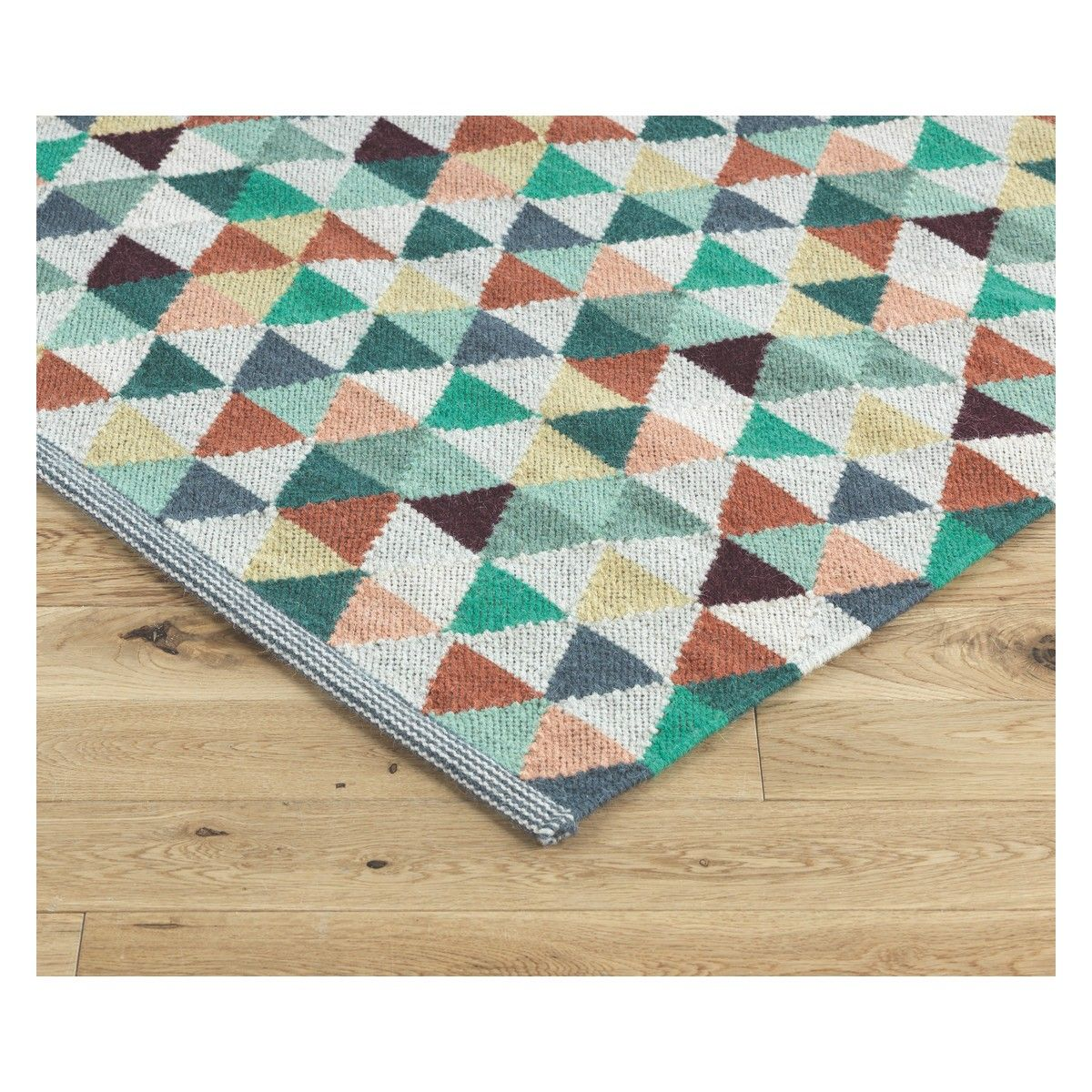 Kaleido Large Multi Coloured Flat Weave Wool Rug 170x240 Buy Now At Habitat Uk Flat Weave Wool Rug Rugs Embroidered Cushions