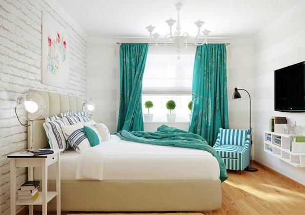 how to decorate a bedroom with white walls photo - 1