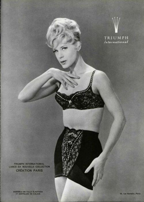 c59a19631 Triumph Underwear Ad - 1962