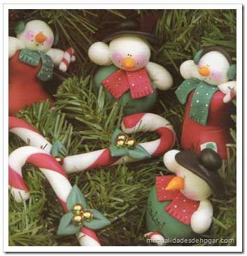 Adornos de navidad de porcelana fr a porcelana fr a for Adornos navidenos en porcelana fria utilisima