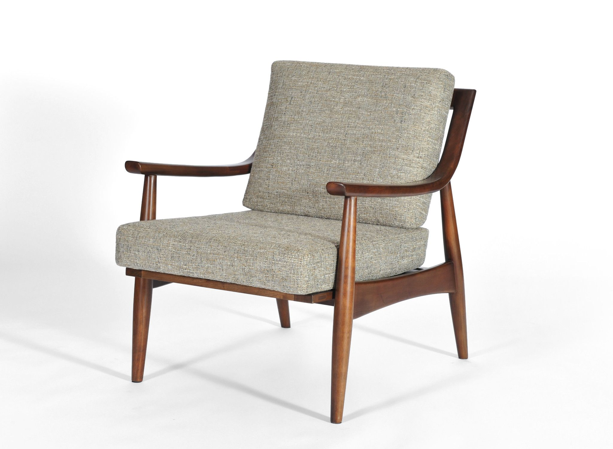 Adam Chair, Medium Walnut