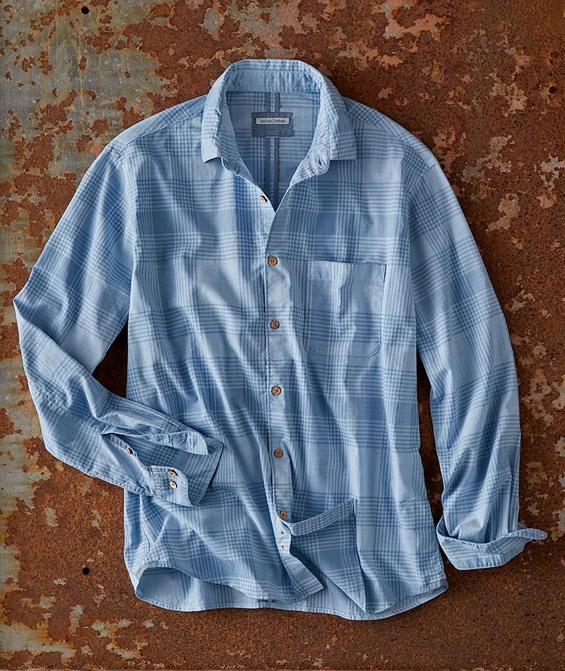 Men S Long Sleeve Pro Plaid Shirt In 100 Cotton In 2020 Clothes Shirts Plaid Shirt
