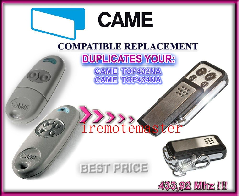 Copy Came Top 432na Duplicator 43392 Mhz Remote Control Universal