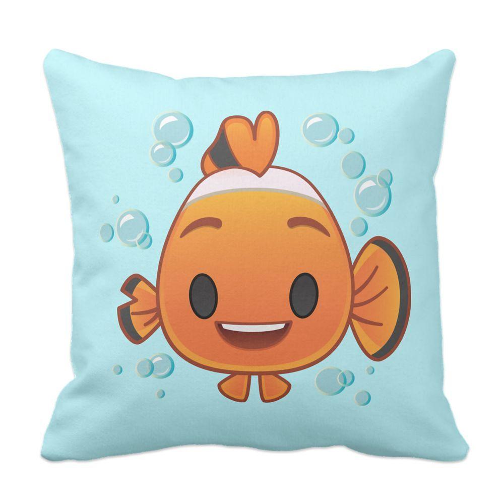 Nemo Emoji Pillow Customizable