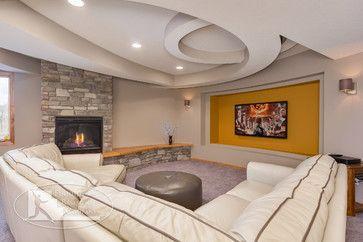 Luxury Basement Tv Ideas
