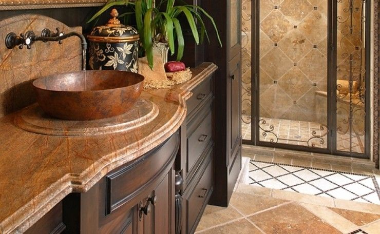 If you would like to create a Mediterranean-style space using our kitchen  and Bathroom cabinets Orlando residents love, view our gallery here.