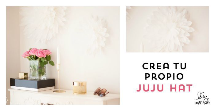 crea tu propio juju  hat para tu casa o pompón de plumas : via MIBLOG