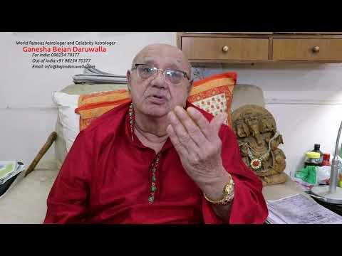 Astrologer Ganesha Bejan Daruwalla Horoscope Forecast For