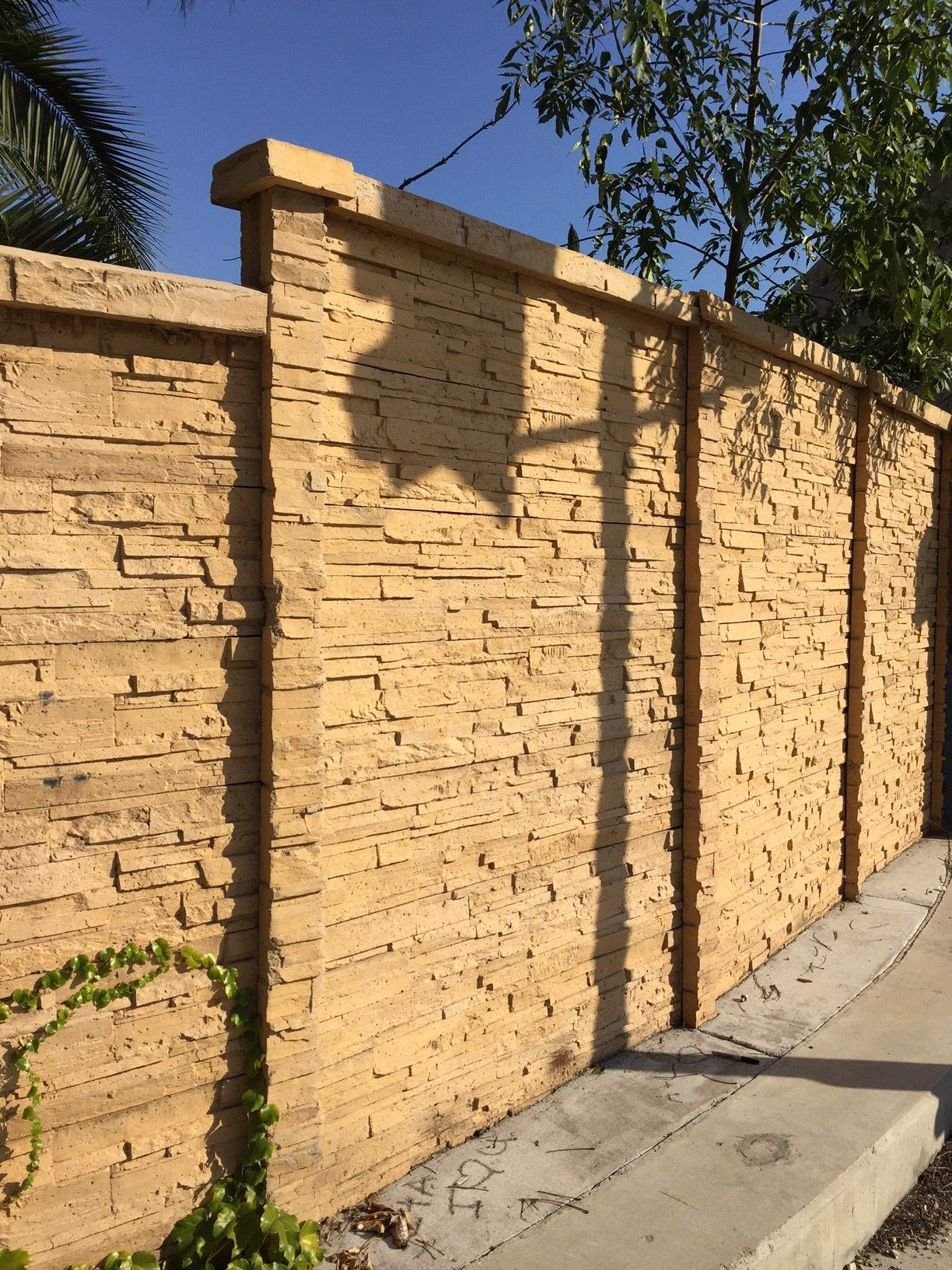 If you want to see another ChiselCrete precast concrete fence ...