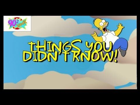 9 Simpsons Facts to Satisfy the Biggest Fans!! - YouTube