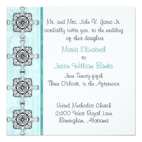Stylish Wedding Invitation #wedding #weddinginvitations #invitations #weddingplanner