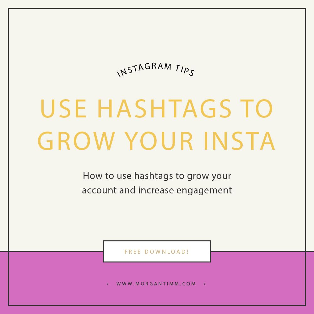 Grow Your Instagram Following With Hashtags