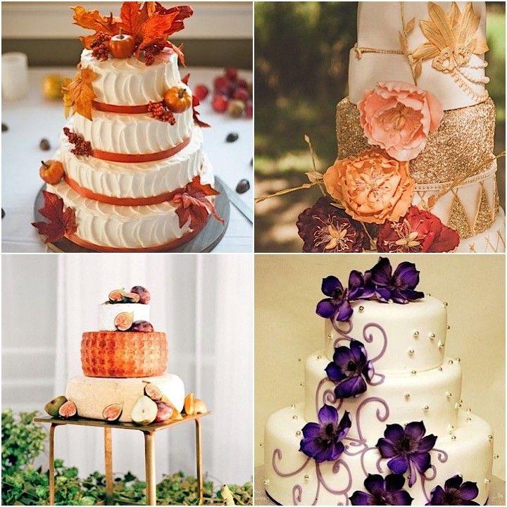 Spectacular Fall Wedding Cake Ideas Wedding Cake ideas and Fall