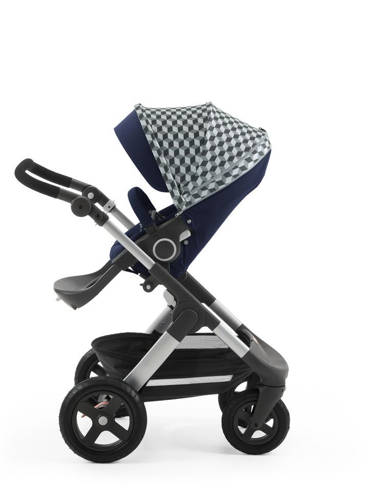Bugaboo Jogging Pram Stokke® Stroller Style Cube Kit Seat Print With Images