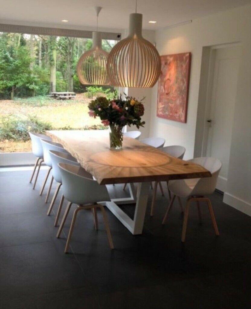 modern neu eichebaum 170x100 4cm massiv holz esstisch luxus in berlin prenzlauer berg ebay