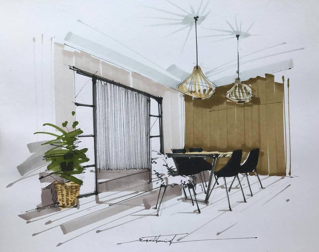 by sergei tihomirov sketches interior sketch sketches book design rh pinterest com
