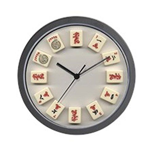 CafePress  Mah Jongg Crak  Unique Decorative 10 Wall Clock >>> You can find out more details at the link of the image.